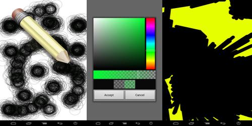 На сенсорный рисования программу для телефон