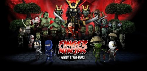 Finger Ninjas: Zombie Strike-Force