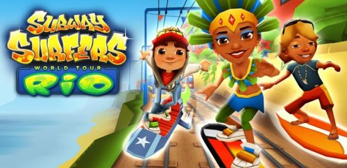 Subway Surfers (Rio, Rome, Sydney, Tokyo, Paris, Beijing, Moscow, New Orleans)