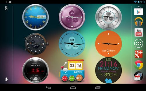 Beautiful Clock Widget