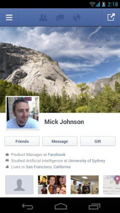 Facebook - Официальное приложение