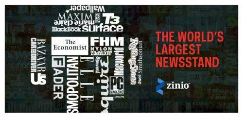 Журнальный киоск Zinio