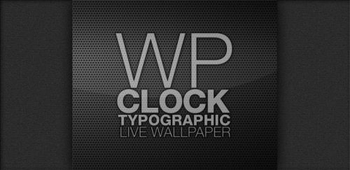 Wp Clock Design Live Wallpaper