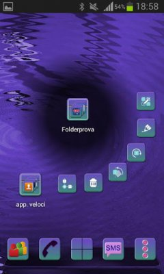 Next Launcher CENTRIC Theme
