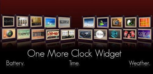 One More Clock Widget - Огромный пак виджетов