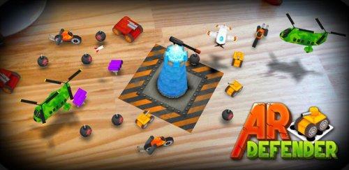 ARDefender - Игра на листе бумаги