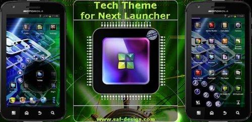 Next Launcher Tech Theme