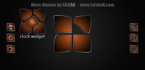 Next launcher theme SoftOrange