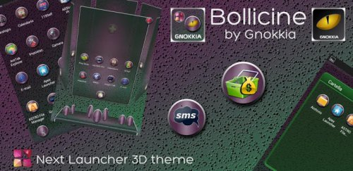 Next Launcher Bollicine Theme