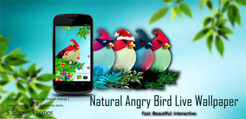 Natural Angry Birds