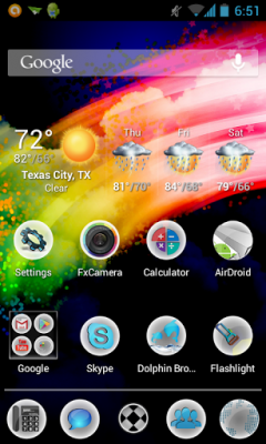 Splashy HD Apex / Nova Theme