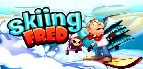 Skiing Fred - Зимнии приключения Фреда