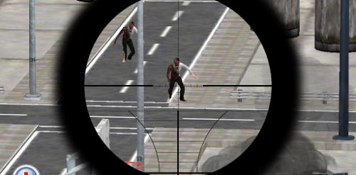 Apocalypse Zombie Sniper - Отстреливаем зомби