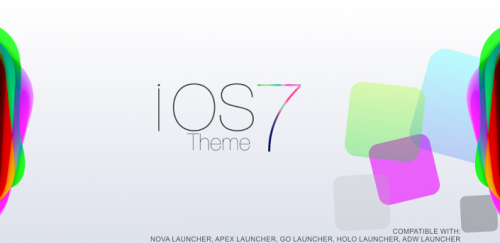 iOs 7 Theme HD Concept 8 in 1 - Тема в стиле iOs 7