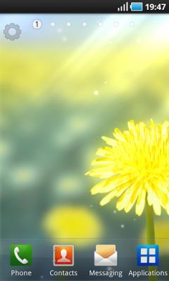 Galaxy S4 Yellow - Желтый одуванчик
