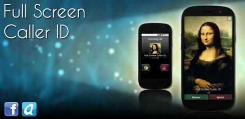 FullScreen Caller ID PRO - Фотография вызывающего абонента во весь экран