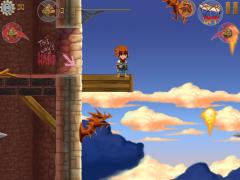 Freedom Fall - Красочный платформер