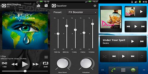 AMP - Android Music Player - Привлекательный музыкальный плеер