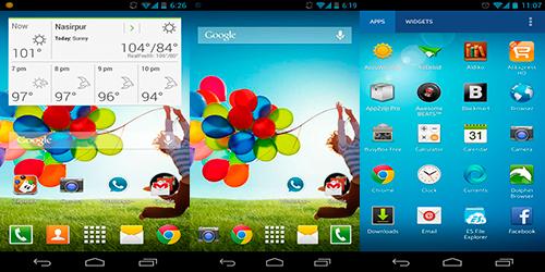 Galaxy S4 Theme HD - Красивая тема и иконки