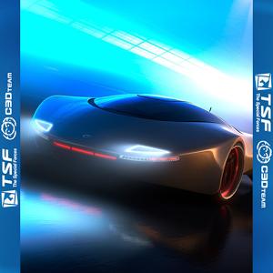 TSF Shell Theme Neon Dream - Неоновая тема с авто