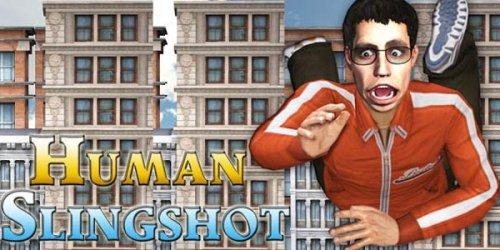 Human Slingshot 3D - Стреляем Человечком из Рогатки