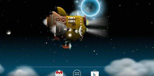 The Nebulander - Космический корабль