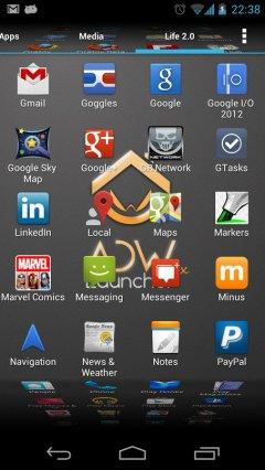 ADWLauncher EX - Красивый рабочий стол для Android