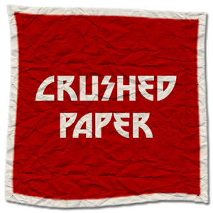 Crushed Paper HD Theme