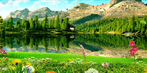 Landscape Live Wallpaper PRO