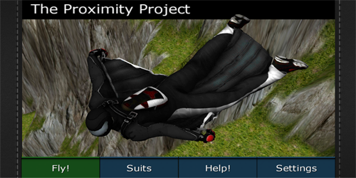Wingsuit - Proximity Project - Бейсджампинг