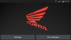 3D HONDA Logo HD - Авто обои с Хондой
