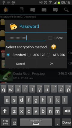 AndroZip™ Pro File Manager - Работа с ZIP, RAR Архивами
