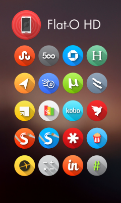 Flat-O HD Apex Nova ADW Theme