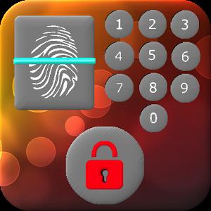 Блокировка экрана устройства - Отпечаток пальца
