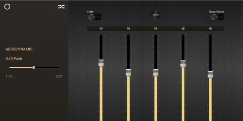 Эквалайзер + усилитель музыки