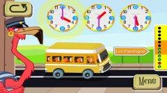 Весёлые часы - определять время