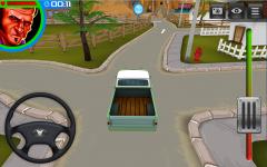 3D Американский грузовик