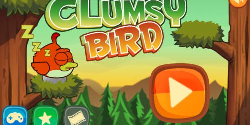 Неловкие Птицы: Clumsy Bird