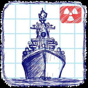 Морской бой - Бомби корабли на клеточной тетрадке