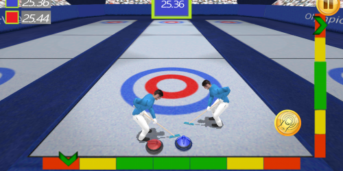 Curling Simulator 3D