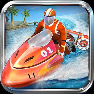 Гонки водных мотоциклов 3D