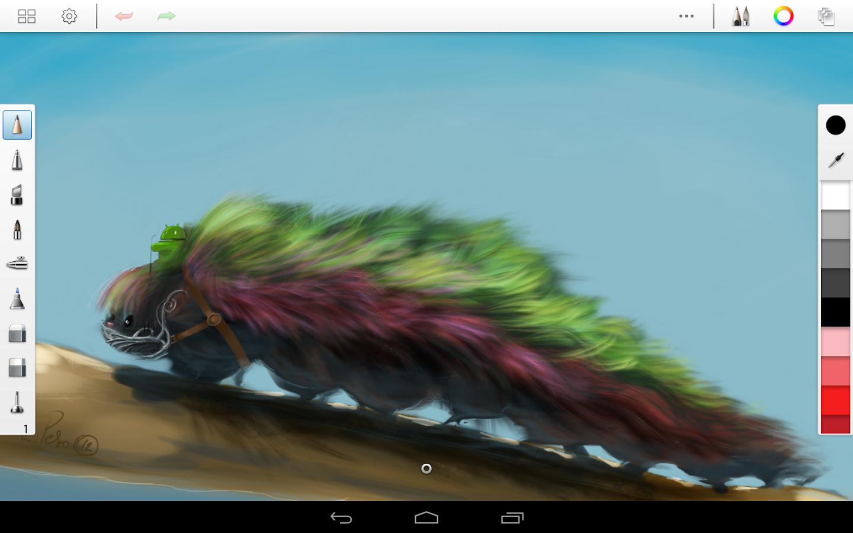 Скачать программу для рисования на андроид.