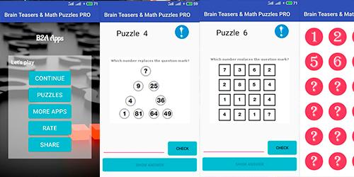 Мозговые дразнилки и математические головоломки