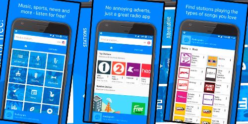 Radiogram: Ad Free Radio на Андроид