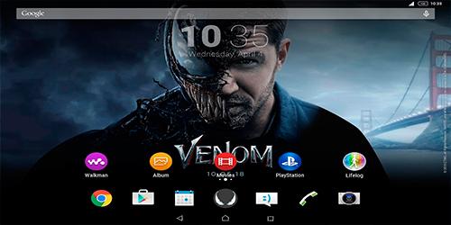 Тема Xperia Venom Theme для Андроид
