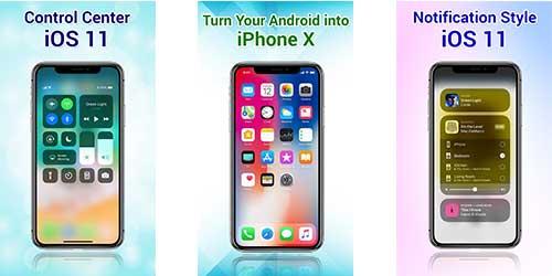Phone X Launcher - из Андроида в Айфон X / OS 12? Легко!