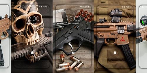 Оружейные темы и обои для Андроид